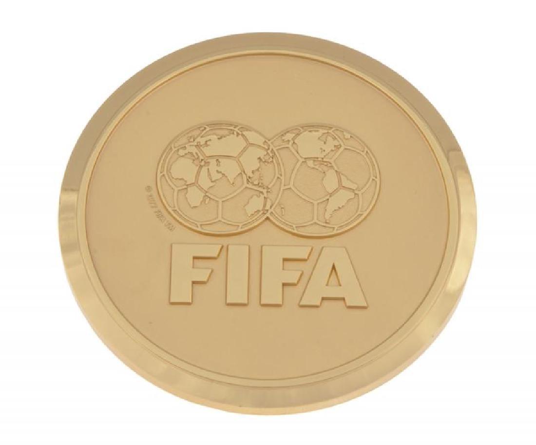 2009 FIFA WORLD PLAYER GALA MEDAL