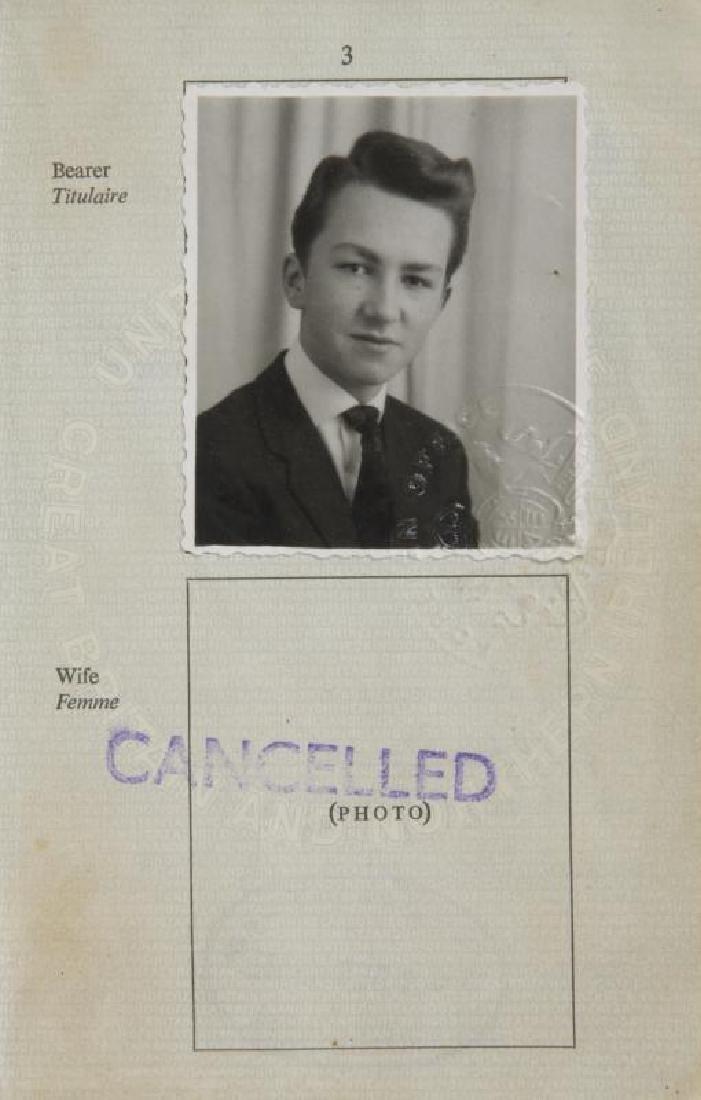 MITCH MITCHELL HENDRIX ERA PASSPORT