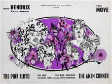 THE JIMI HENDRICKS EXPERIENCE AND PINK FLOYD CONCERT