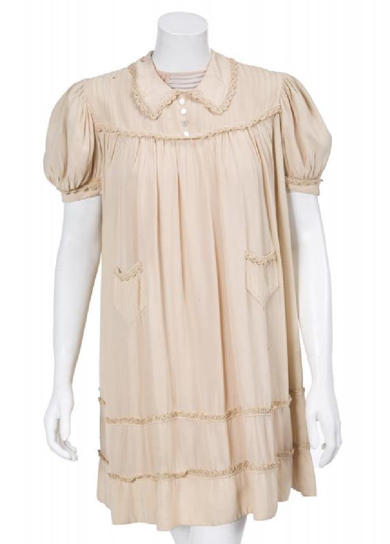 FANNY BRICE BABY SNOOKS BABYDOLL DRESS AND STUDIO IMAGE