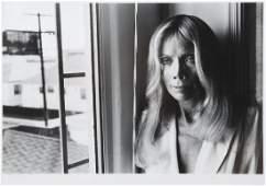 MARILYN GRABOWSKI PORTRAIT PHOTOGRAPH BY HELMUT NEWTON