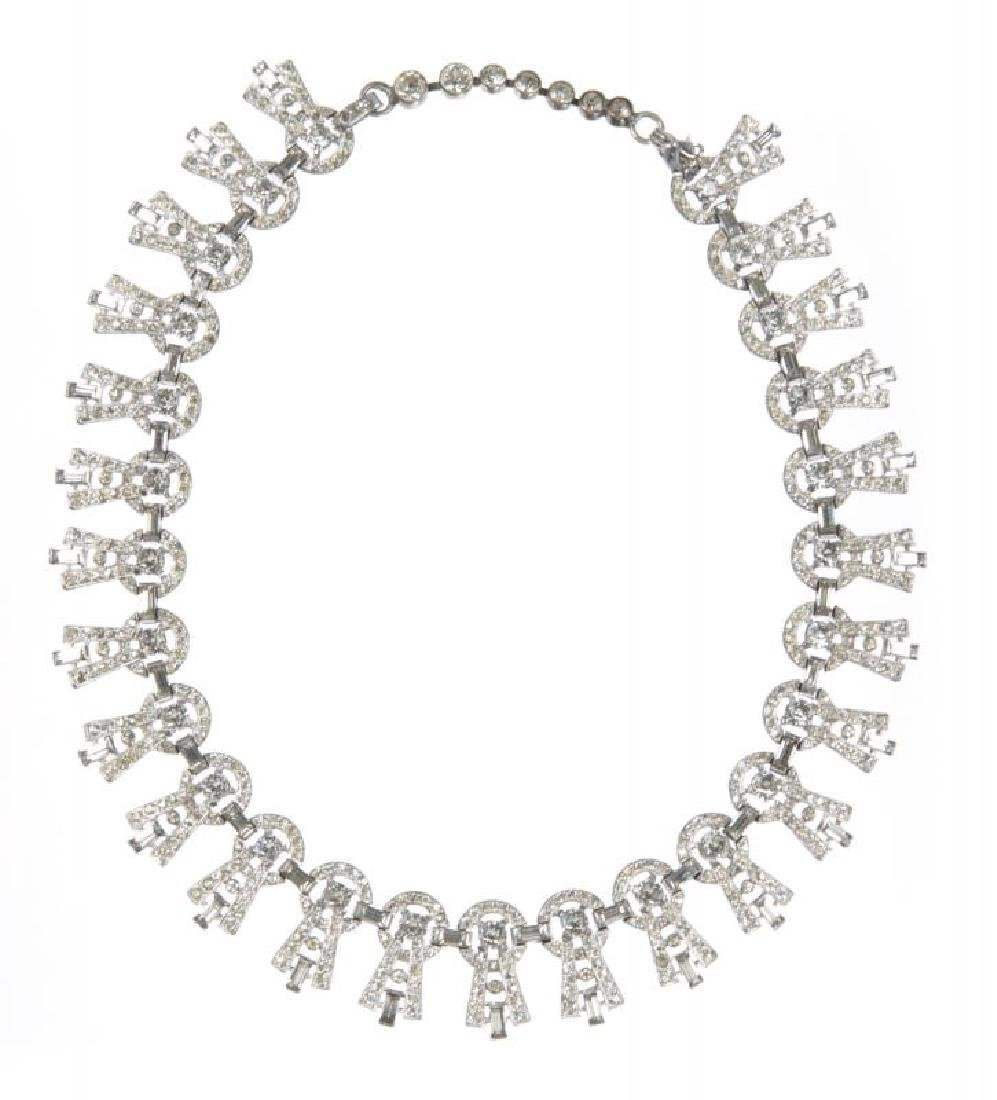 LUCILLE BALL AND OTHERS WORN NECKLACE AND PHOTOGRAPH