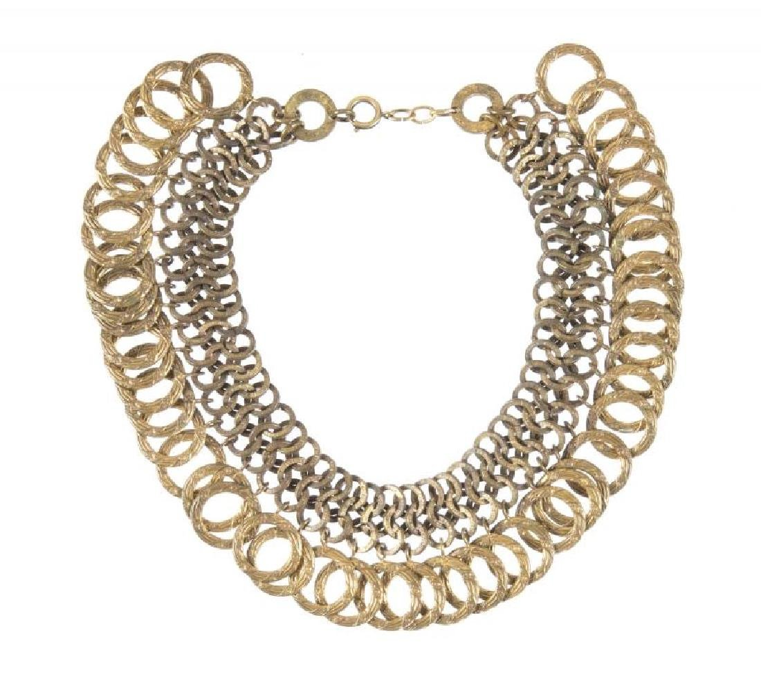 JOAN CRAWFORD AND DUSTY ANDERSON WORN NECKLACE AND
