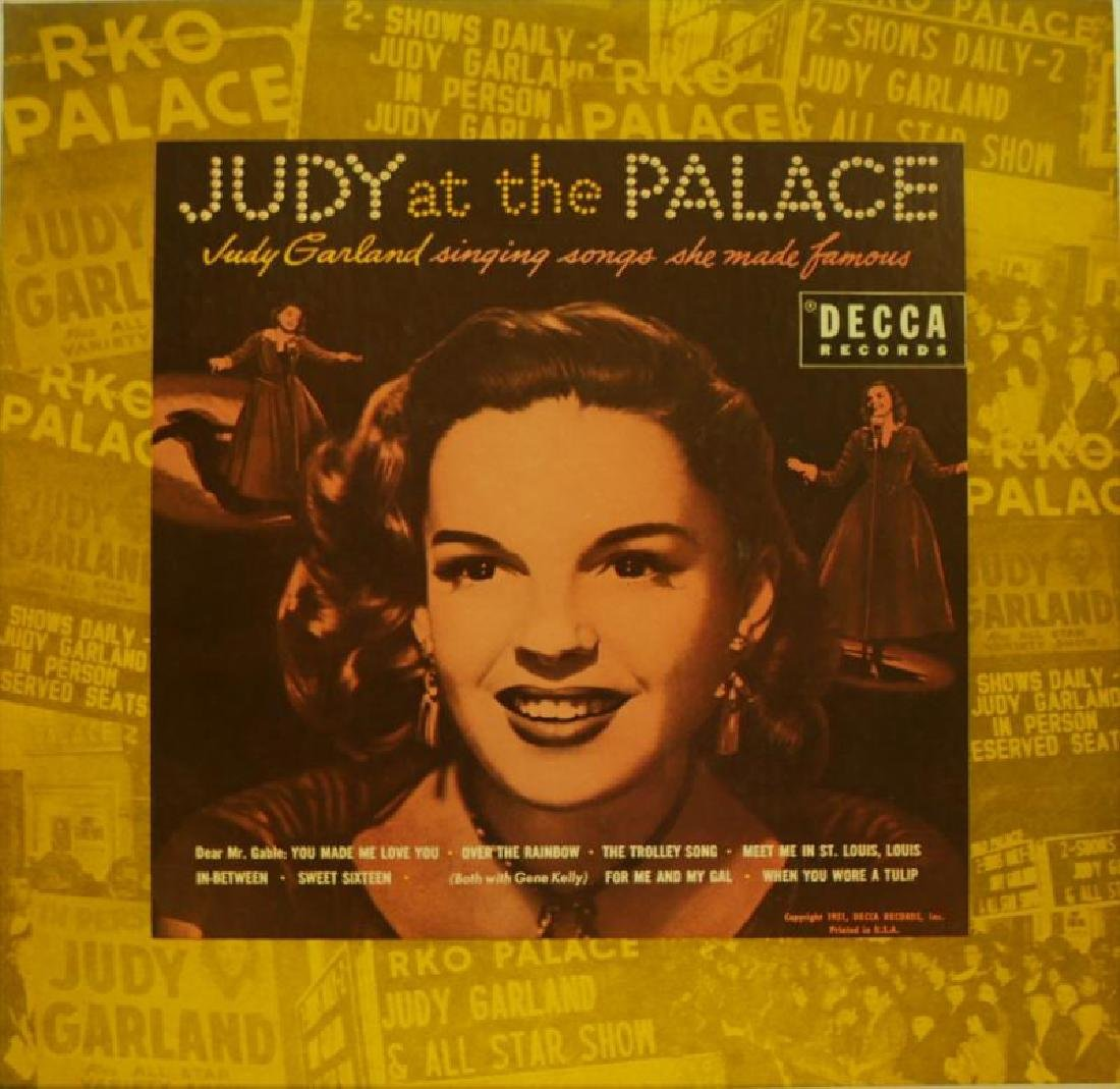 JUDY GARLAND AND BETTY HUTTON WORN EARRINGS AND RECORD - 2