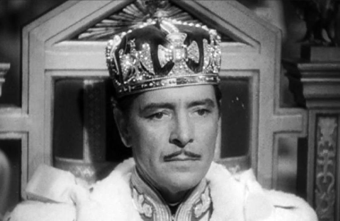 RONALD COLMAN PRISONER OF ZENDA WORN CROWN - 5