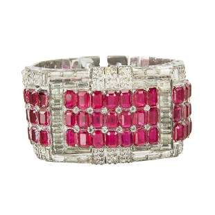 CLAUDETTE COLBERT AND OTHERS WORN BRACELET AND