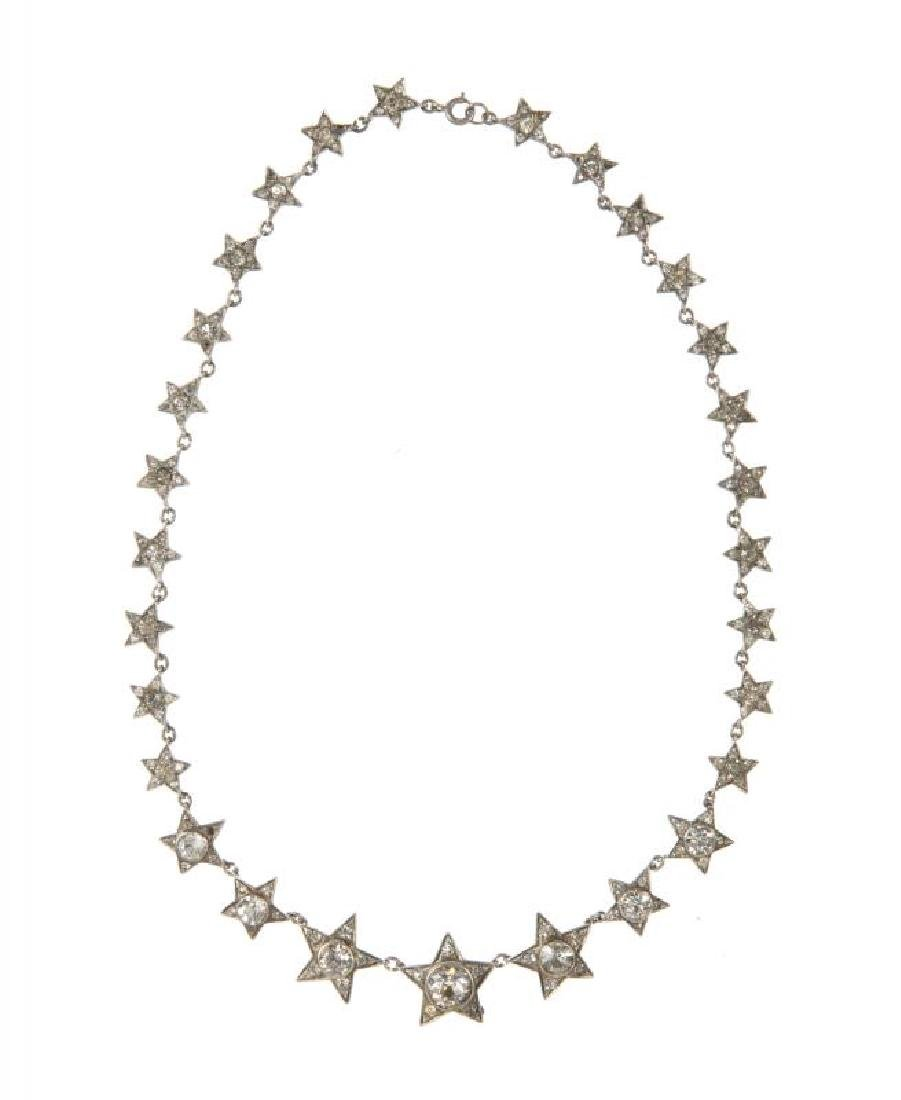 GRETA GARBO AND JEANETTE MacDONALD WORN NECKLACE AND