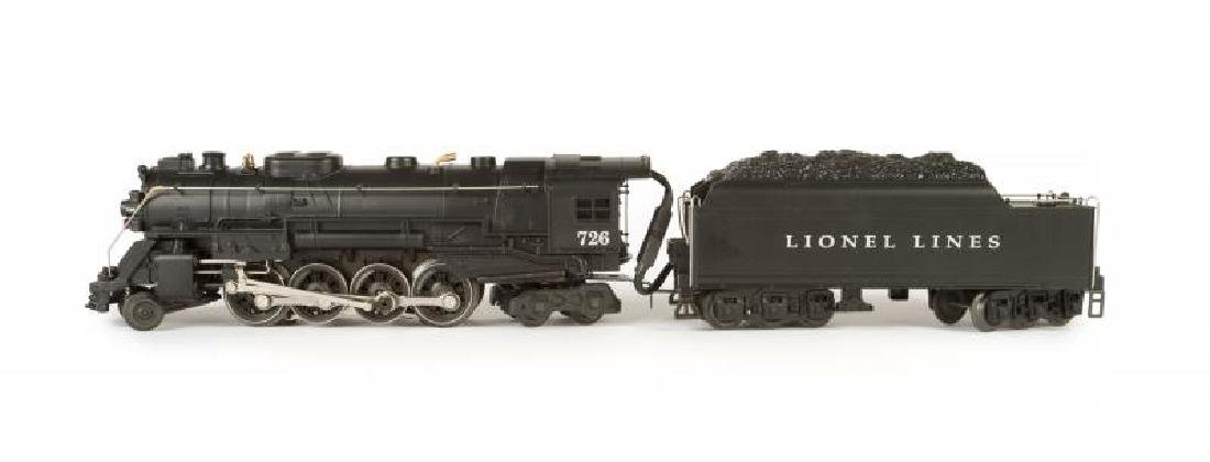 "LIONEL 6-18053 CENTURY CLUB ""726"" BERKSHIRE LOCOMOTIVE"