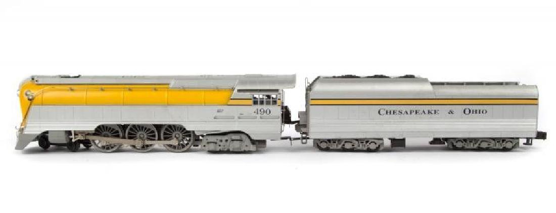 "LIONEL 6-18043 C&O ""490"" HUDSON LOCOMOTIVE"