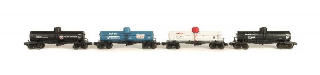 LIONEL 6-29936 DIE-CAST TANK CAR 4-PACK