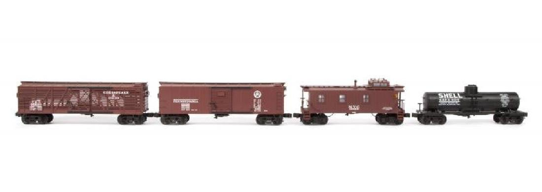 LIONEL DIE-CAST SCALE FREIGHT CARS 4-PACK
