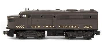 PROTOTYPE LIONEL 0000 NEW YORK CENTRAL ALCO A DIESEL