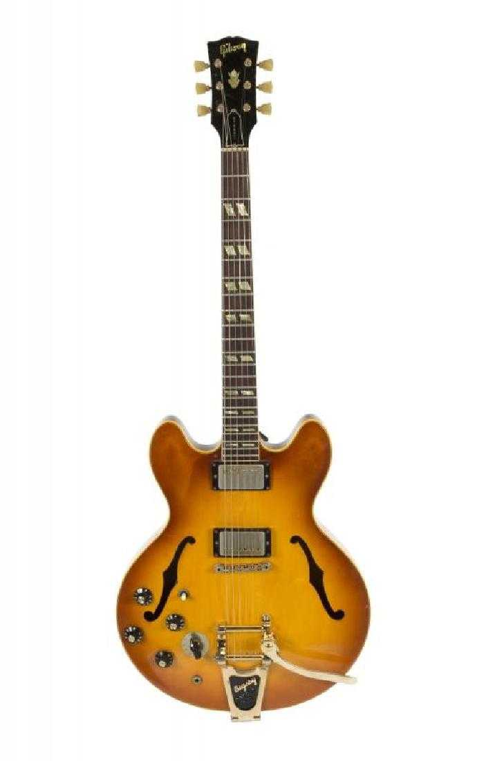 Neil Young Gibson Left Handed Es 345 Guitar