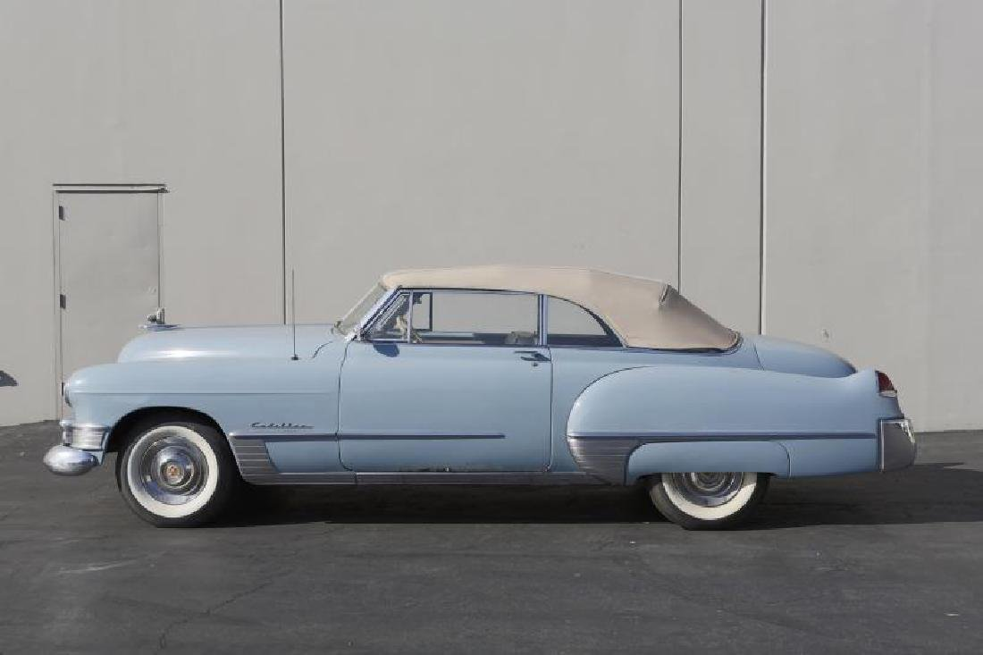 NEIL YOUNG 1949 CADILLAC SERIES 62 CONVERTIBLE VIN