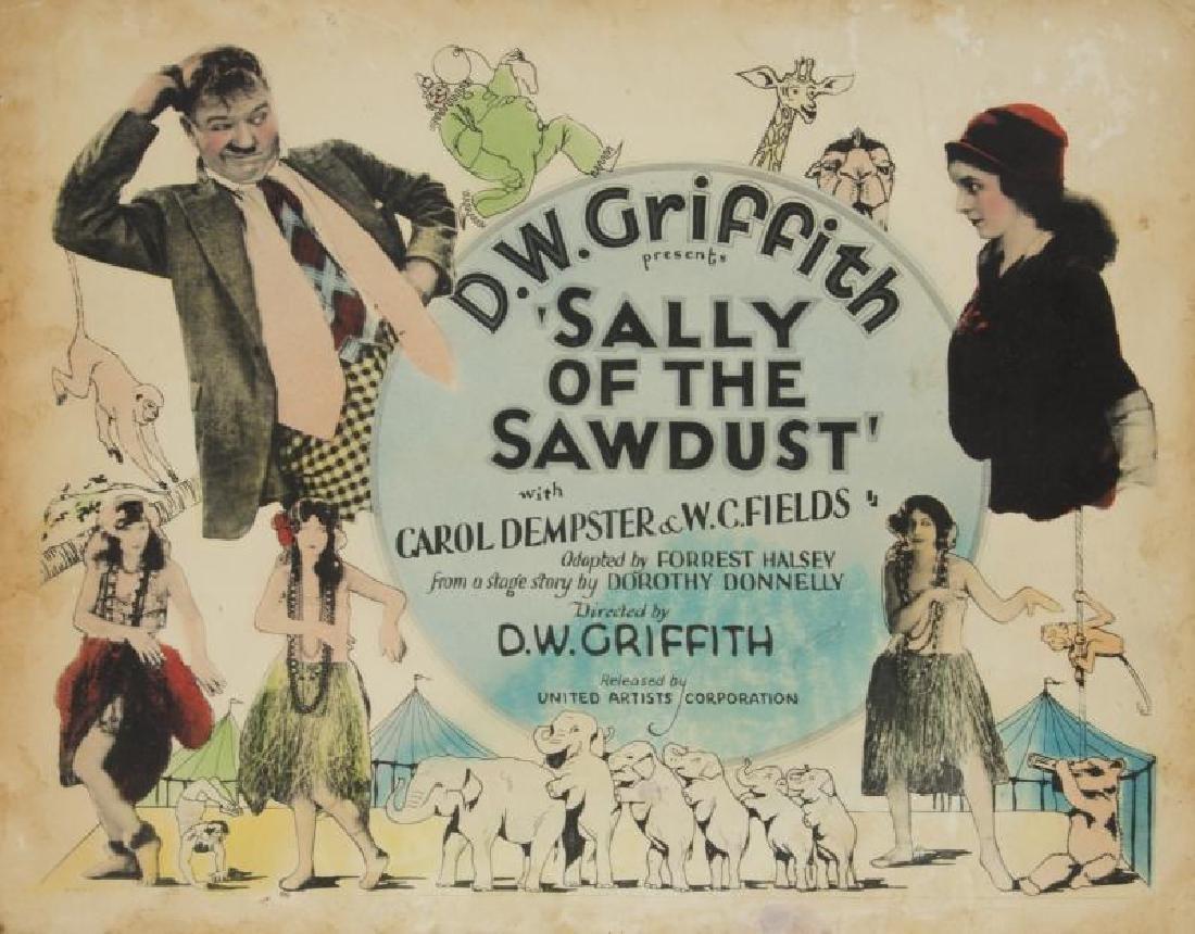 SALLY OF THE SAWDUST LOBBY CARDS