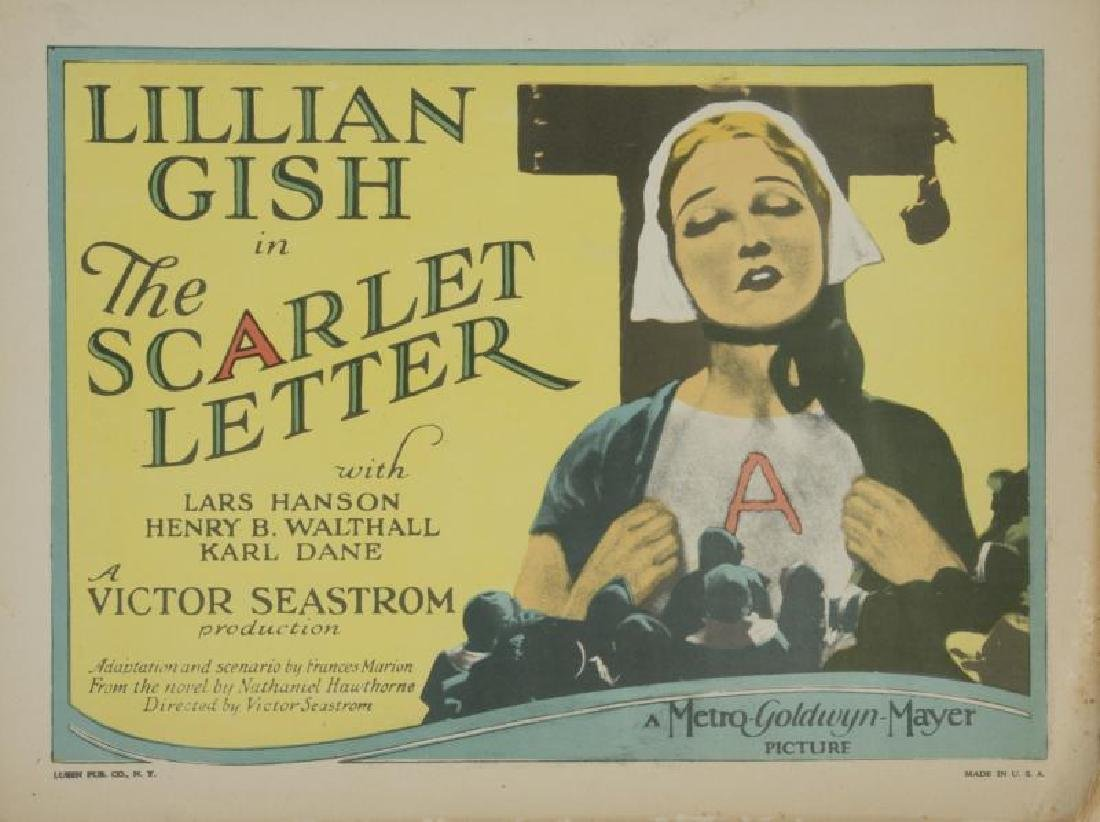 SCARLET LETTER LOBBY CARDS AND PHOTOGRAPHS