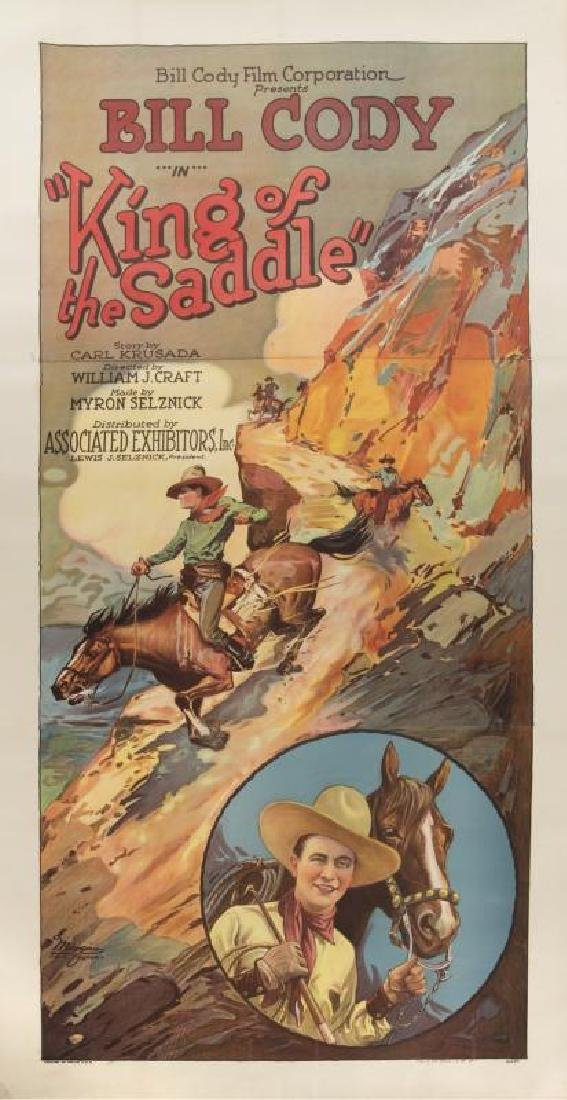 KING OF THE SADDLE POSTER