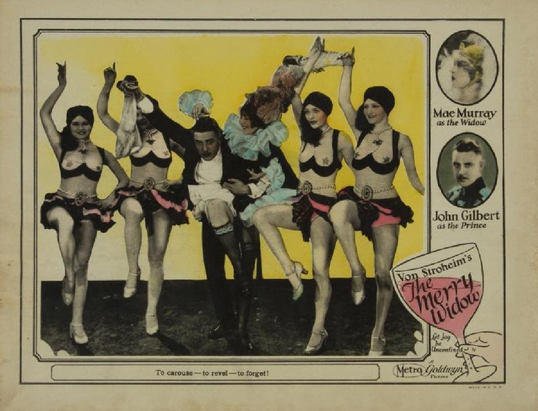 MERRY WIDOW LOBBY CARDS AND HERALDS