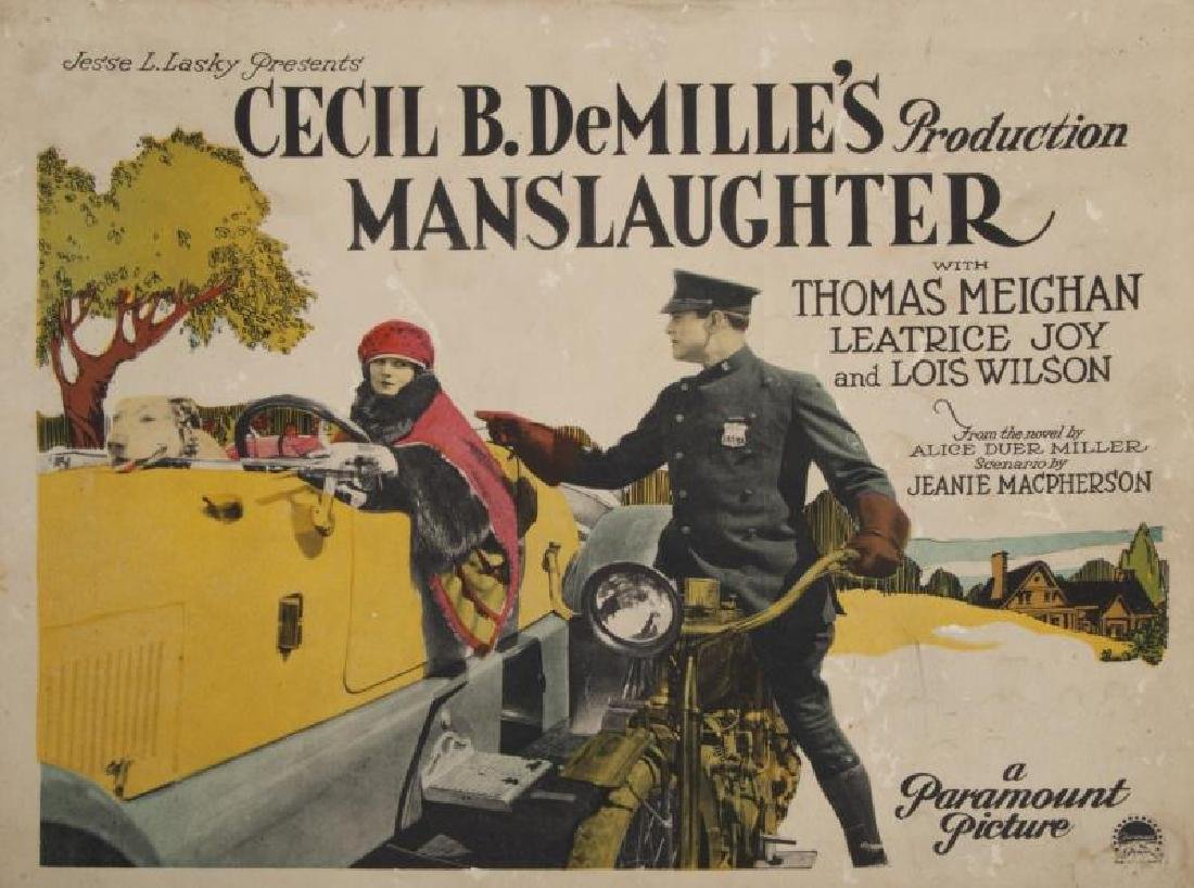 CECIL B. DEMILLE SILENT FILM LOBBY CARDS
