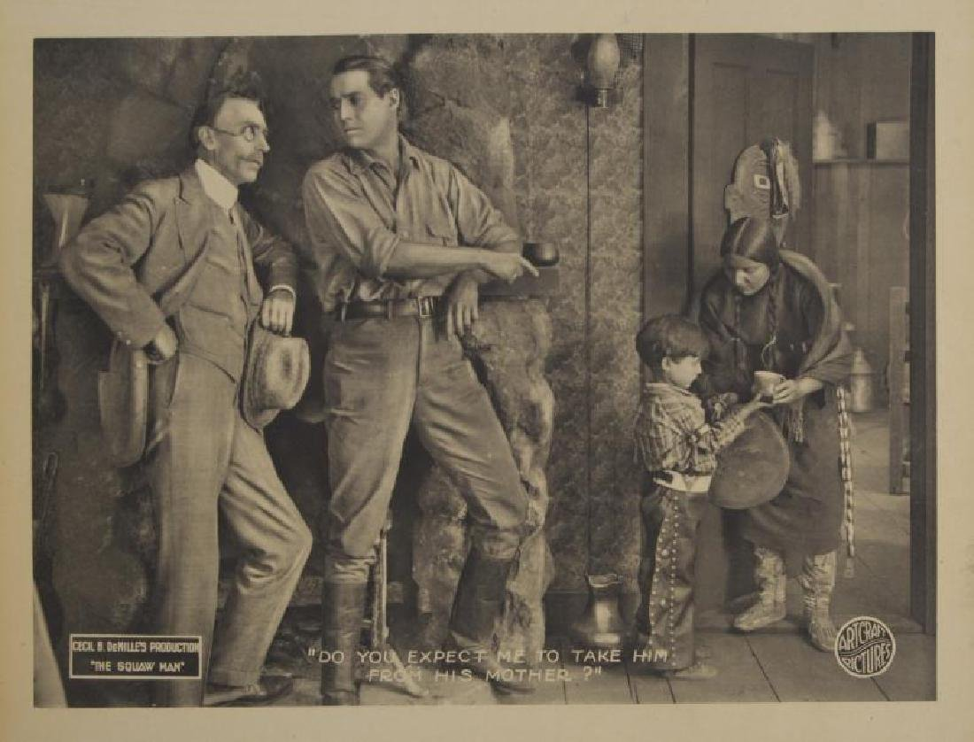 CECIL B. DEMILLE SILENT FILM LOBBY CARDS - 2