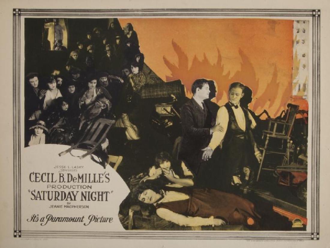 CECIL B. DEMILLE SILENT FILM LOBBY CARDS - 7