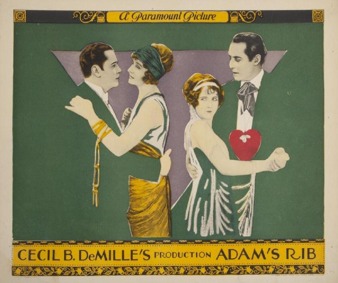 CECIL B. DEMILLE SILENT FILM LOBBY CARDS - 8
