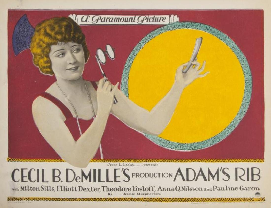 CECIL B. DEMILLE SILENT FILM LOBBY CARDS - 9