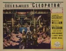 CECIL B DEMILLE LOBBY CARDS