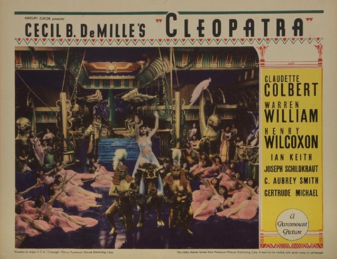 CECIL B. DEMILLE LOBBY CARDS