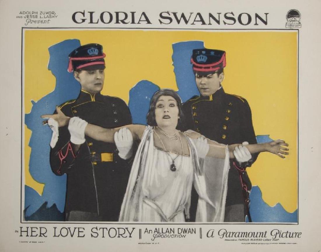 GLORIA SWANSON LOBBY CARDS