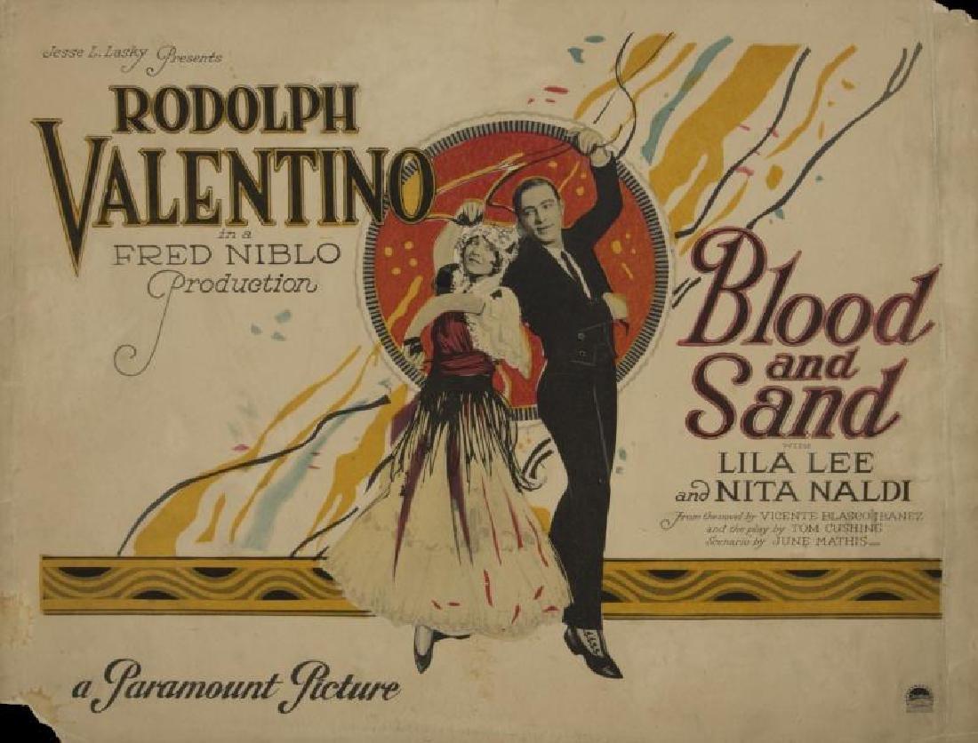 RUDOLPH VALENTINO LOBBY CARDS