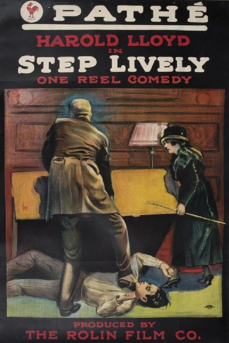 HAROLD LLOYD STEP LIVELY POSTER