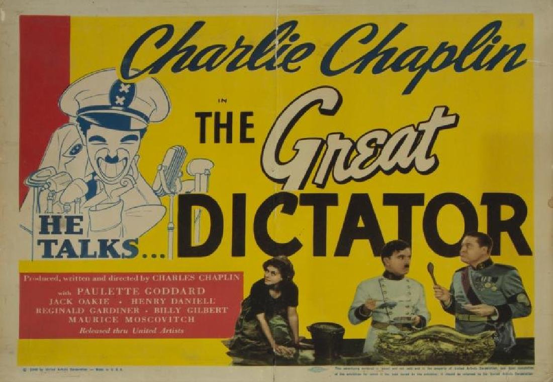GREAT DICTATOR LOBBY CARDS