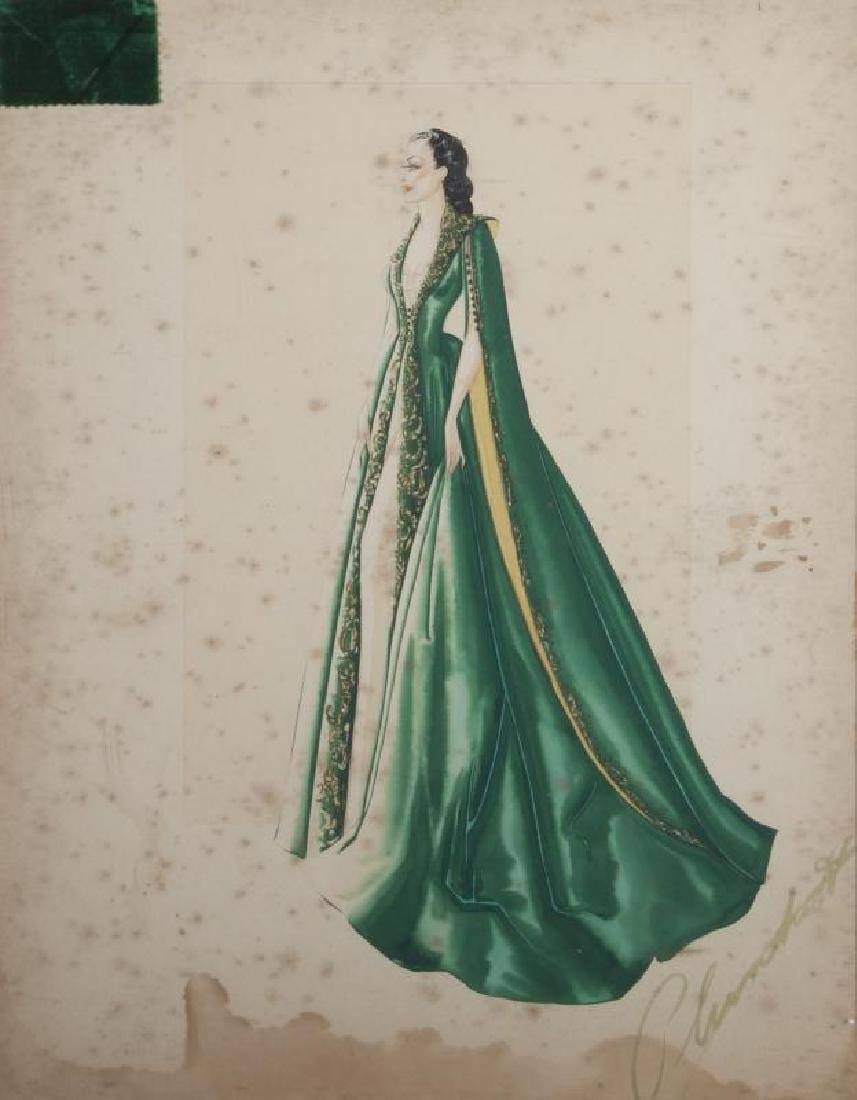 GONE WITH THE WIND COSTUME SKETCH