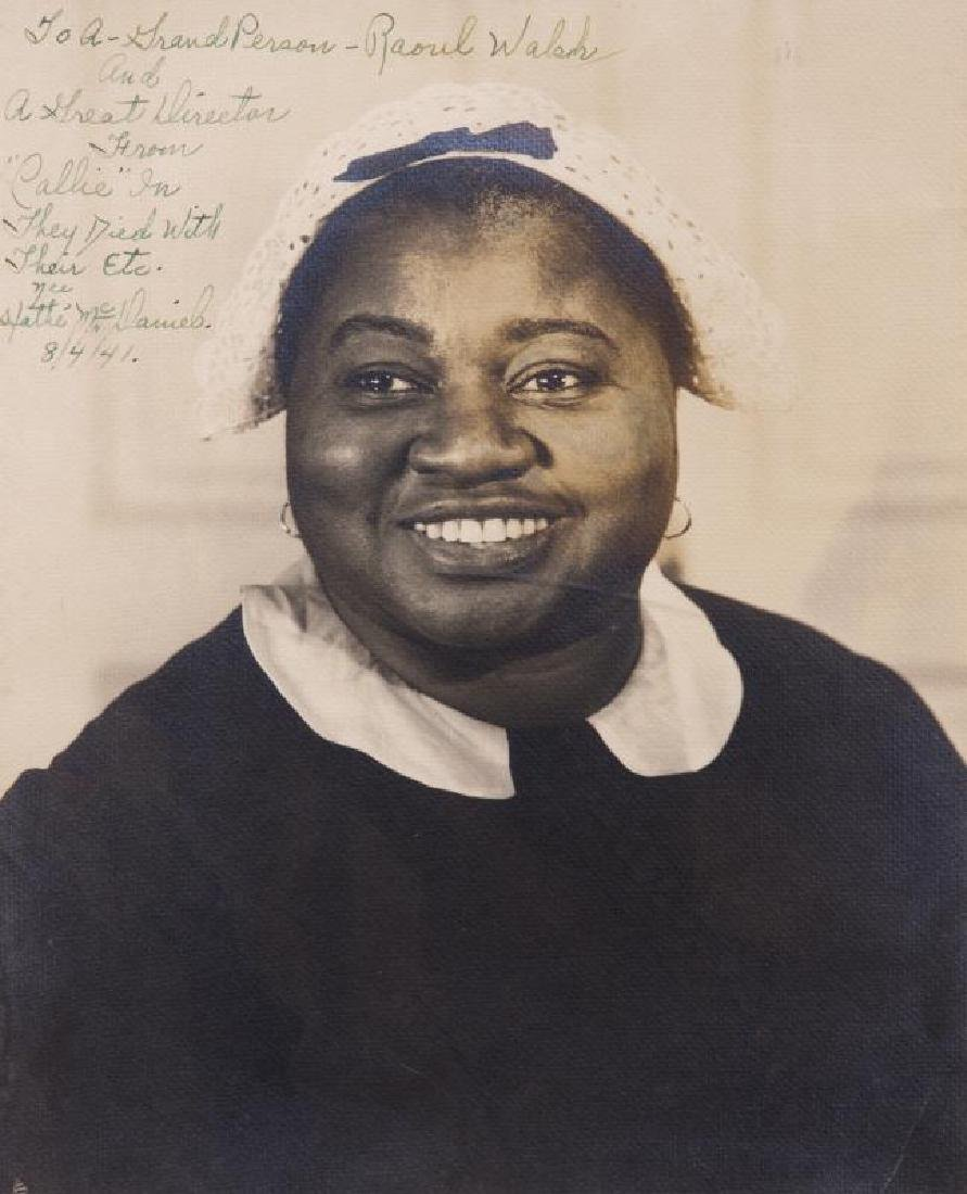 HATTIE MCDANIEL SIGNED PHOTOGRAPH