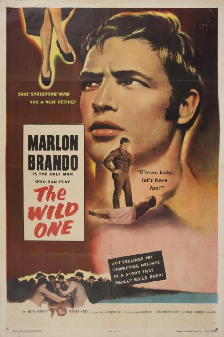 WILD ONE POSTER