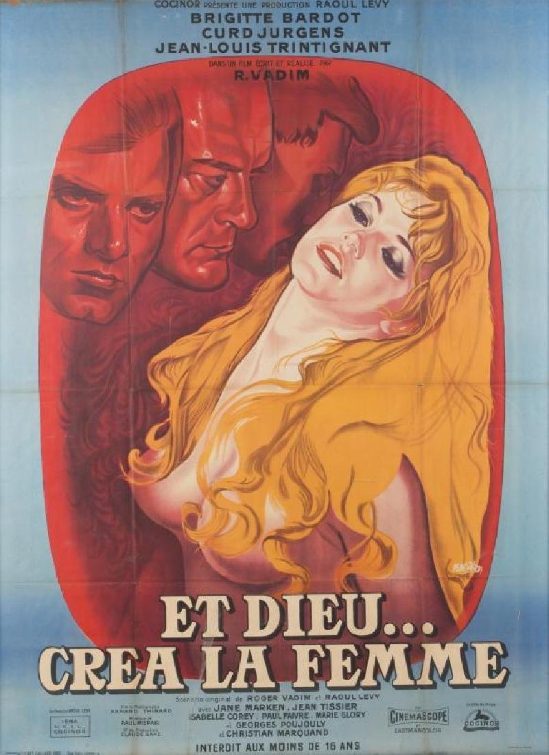 ...AND GOD CREATED WOMAN POSTER