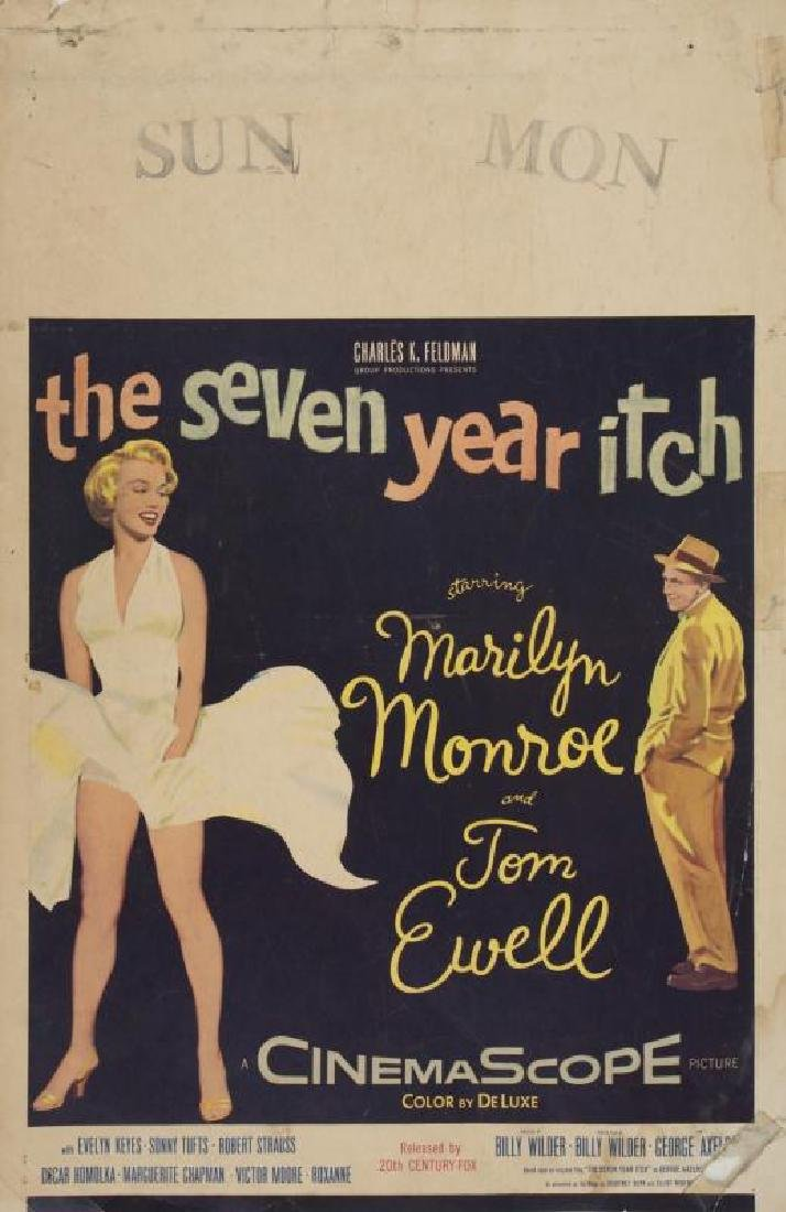 MARILYN MONROE SEVEN YEAR ITCH POSTER