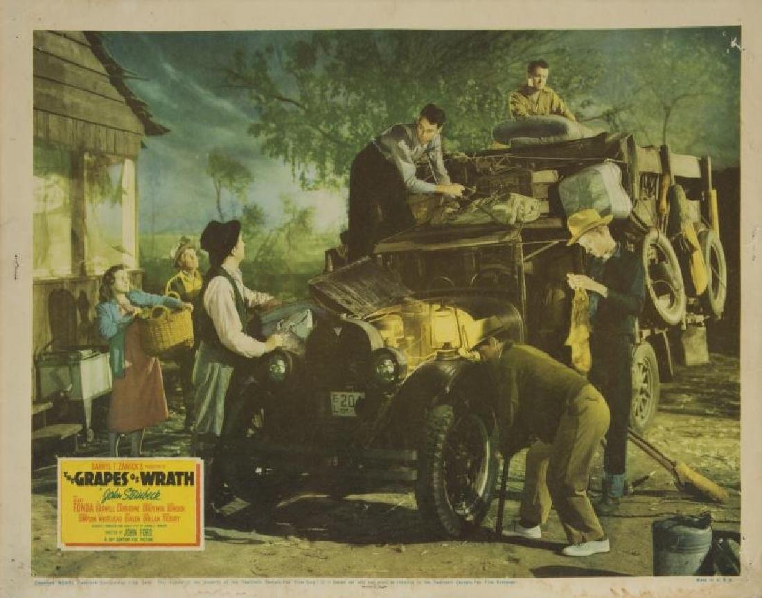 GRAPES OF WRATH LOBBY CARDS