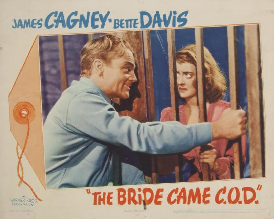 JAMES CAGNEY LOBBY CARDS
