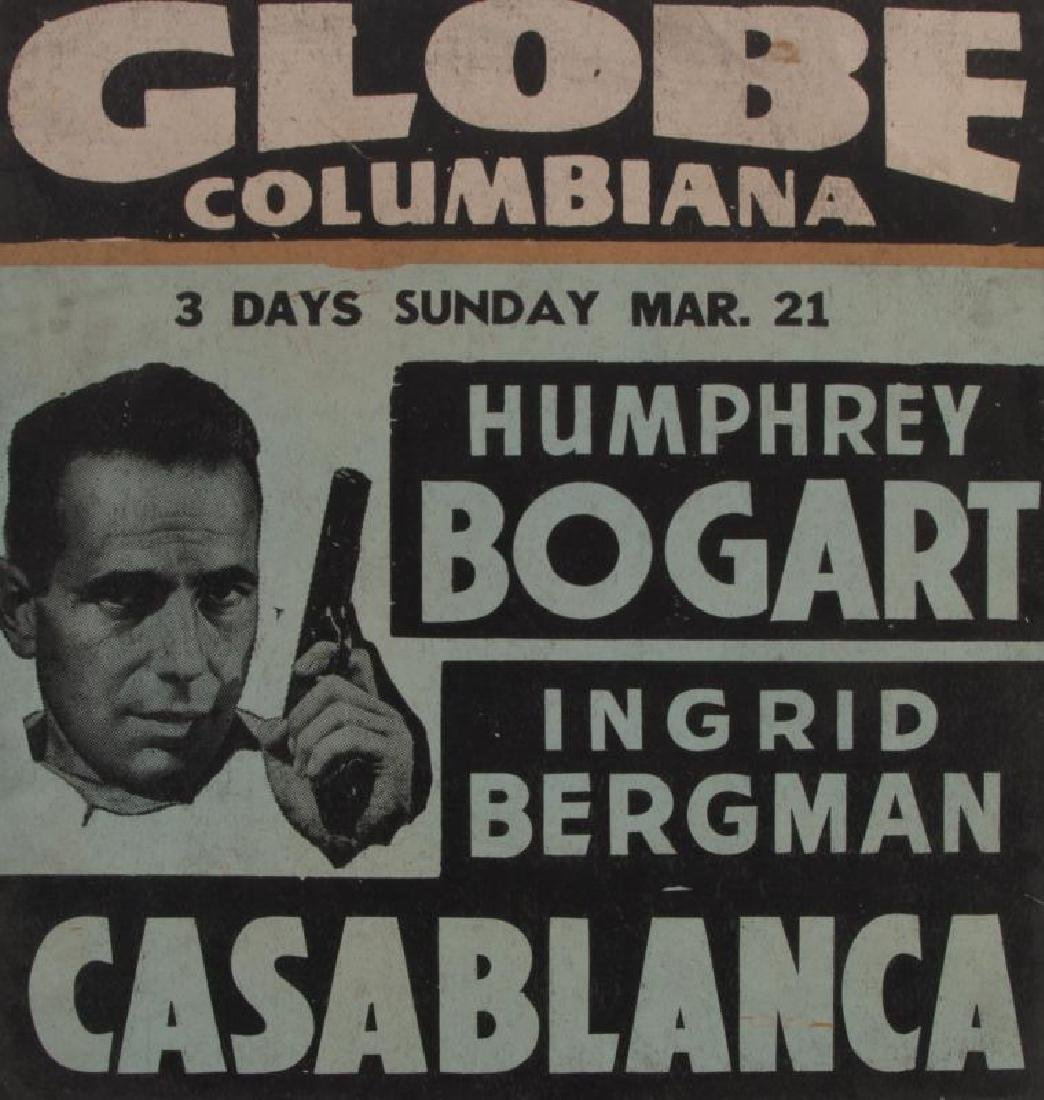 CASABLANCA WINDOW CARD
