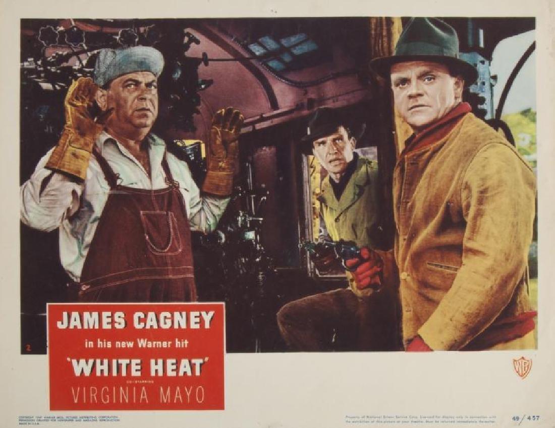 JAMES CAGNEY WHITE HEAT AND KISS TOMORROW GOODBYE LOBBY