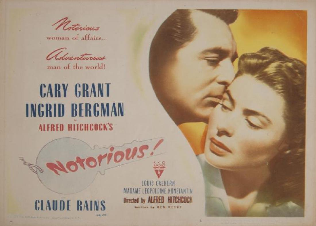 NOTORIOUS LOBBY CARDS