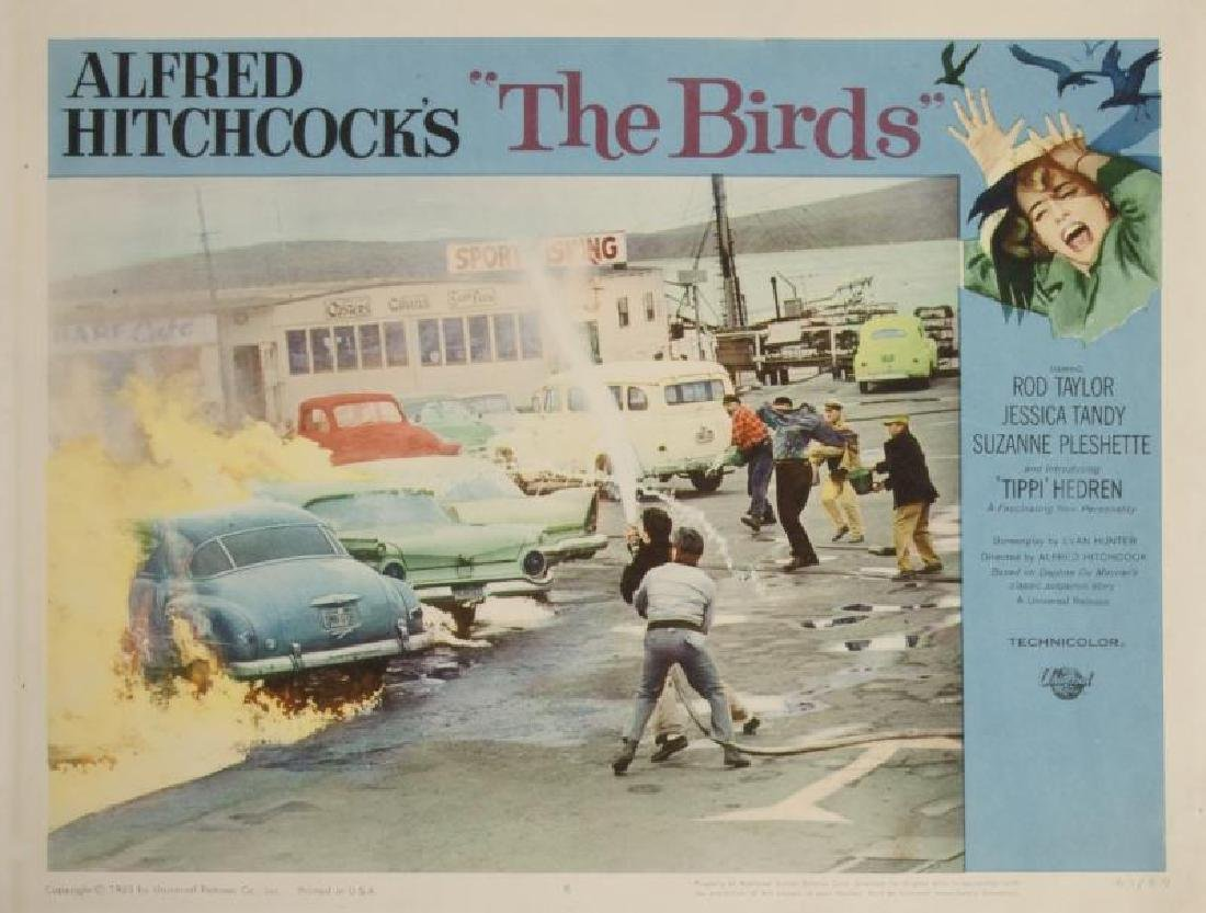 ALFRED HITCHCOCK LOBBY CARDS