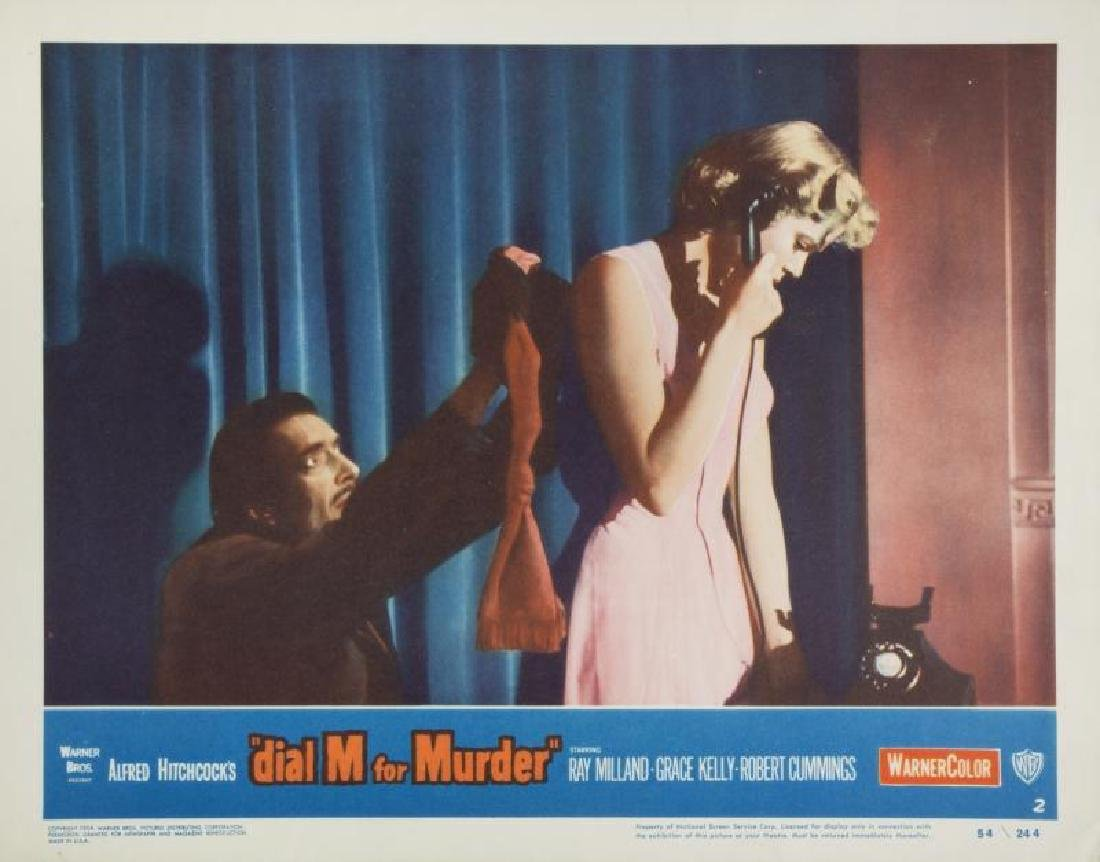 DIAL M FOR MURDER LOBBY CARDS