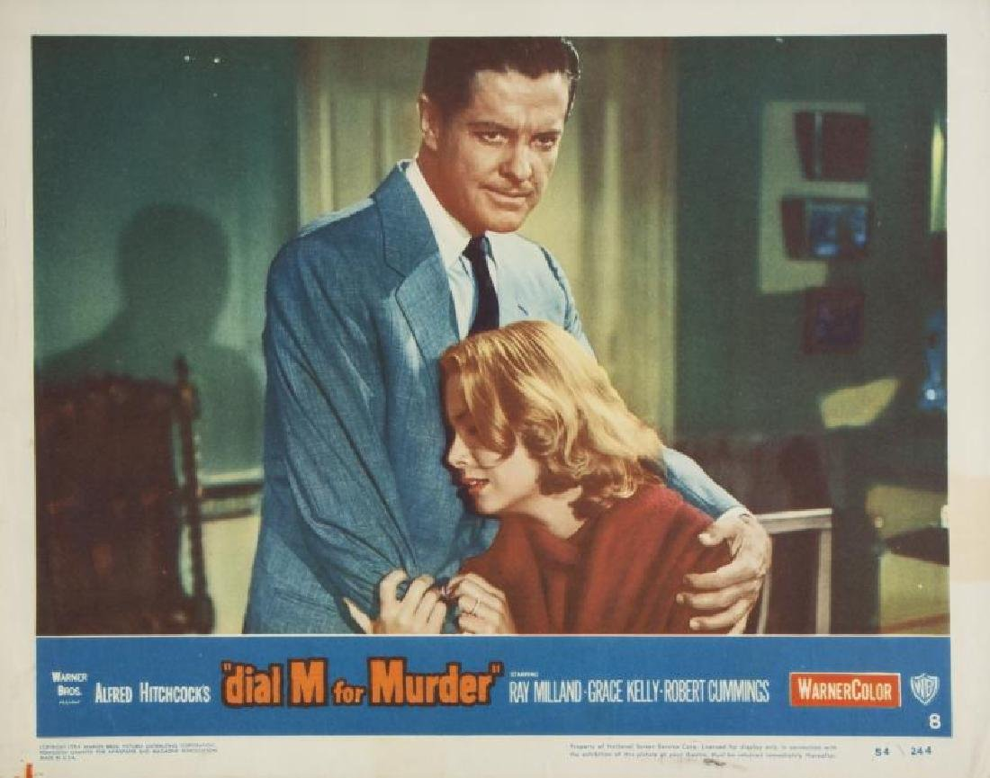 DIAL M FOR MURDER LOBBY CARDS - 2