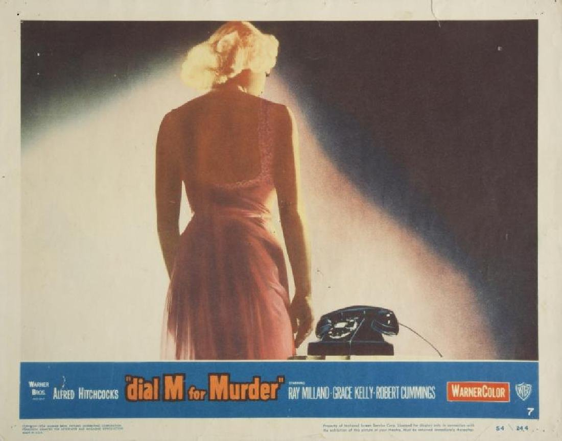 DIAL M FOR MURDER LOBBY CARDS - 3