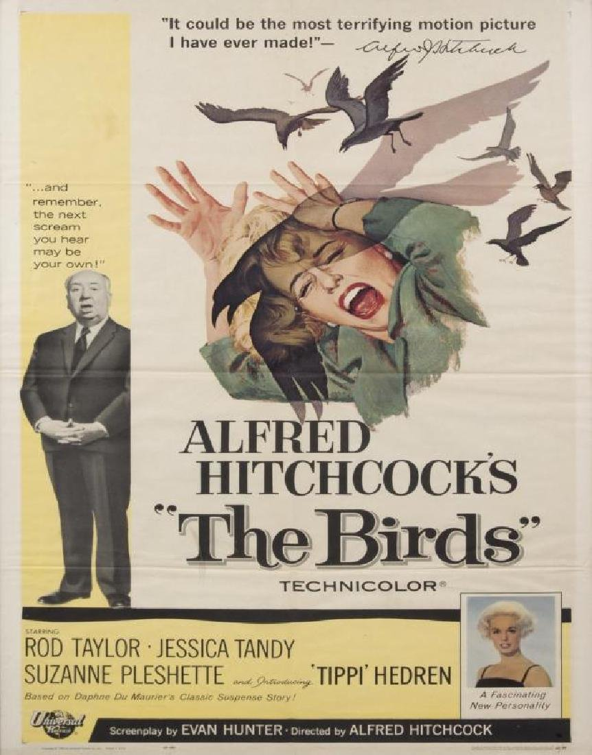 ALFRED HITCHCOCK THE BIRDS POSTER