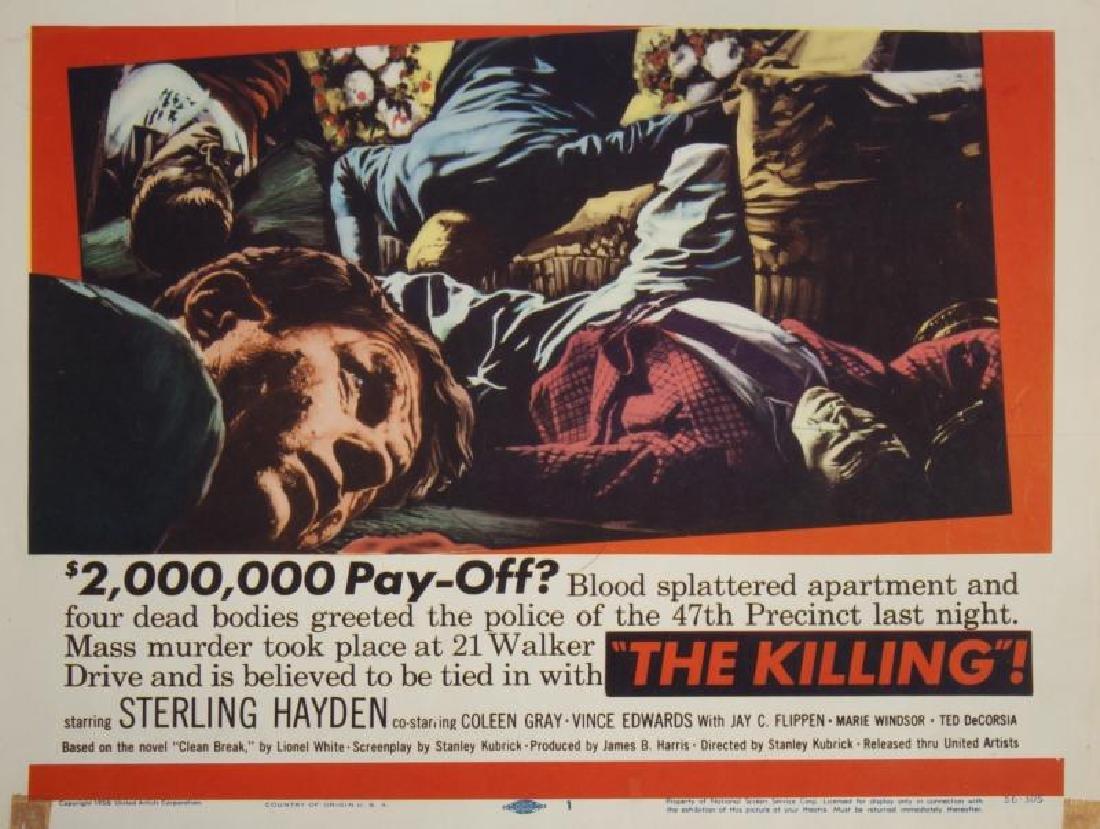 KILLING LOBBY CARDS