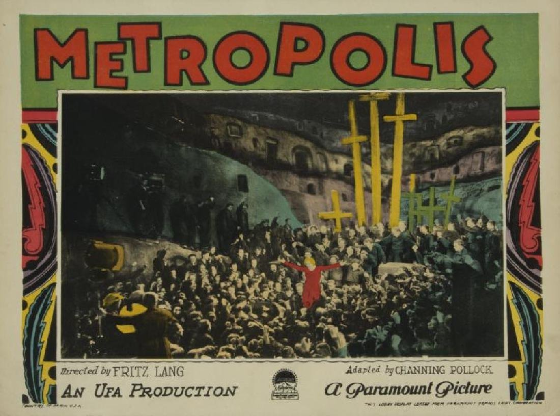 METROPOLIS LOBBY CARD